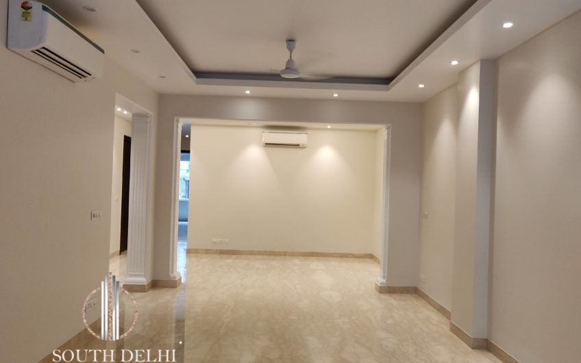 Brand new 3bhk,217 sq yard, Defence Colony