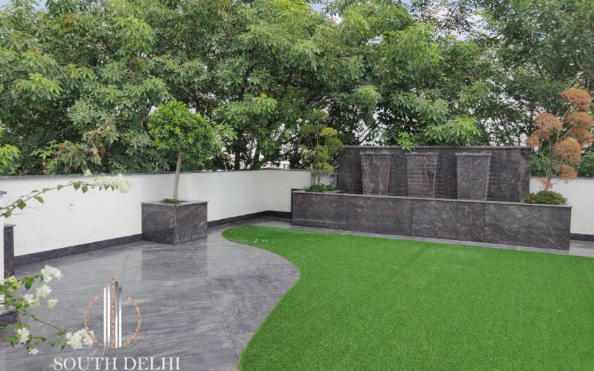 4BHK IN GREATER KAILASH-2, third floor with terrace garden