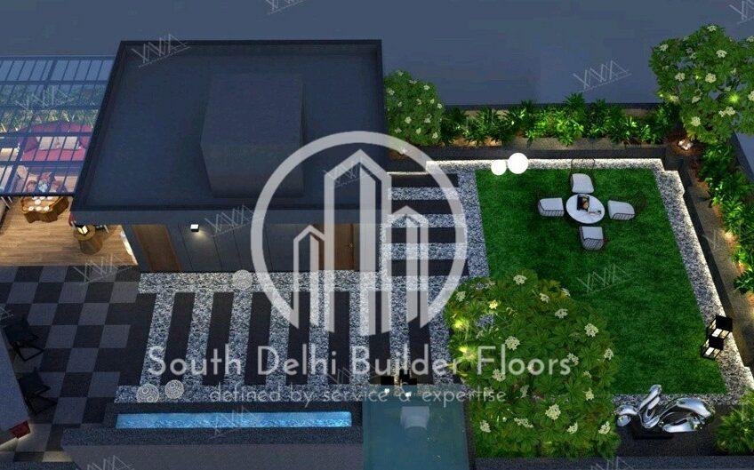 4bhk third floor with entire terrace, independent builder floor for sale in Sarvodaya Enclave